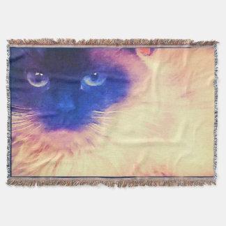 Lençol Cobertura do lance do gato persa
