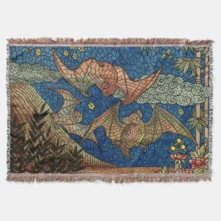 Lençol Cobertura do lance dos bastões do mosaico