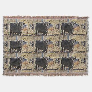 Lençol Cobertura do lance dos touros de Sonoran