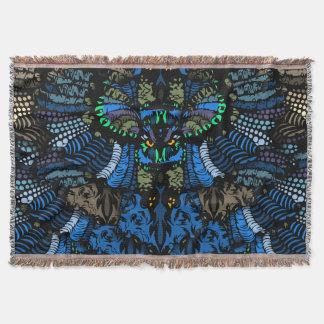 Lençol Coruja azul surpreendente