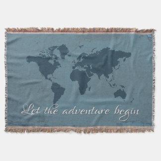 Lençol Deixe a aventura começar