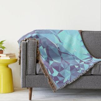 Lençol Design geométrico elegante & limpo - pombo em