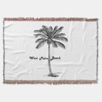 Lençol Design preto e branco de West Palm Beach & de