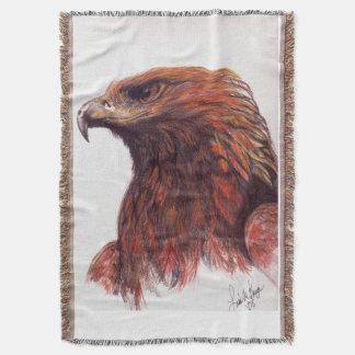 Lençol Eagle dourado majestoso