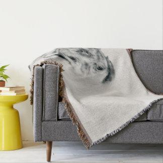 Lençol Esboço do carvão vegetal do Mastiff de Dogue de