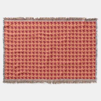 Lençol Fall-Burnt-Orange-Roses-Unisex_Bedding-Blanket