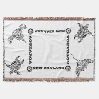 Lençol Lance de AOTEAROA/NZ IKA KORU de Nova Zelândia
