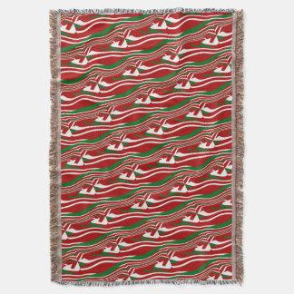Lençol Lance vermelho ondulado