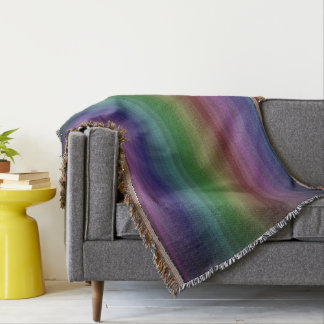 Lençol Linha teste padrão da listra da rocha do arco-íris