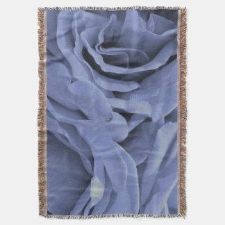 Lençol Luz delicada - os rosas das cinzas azuis florescem