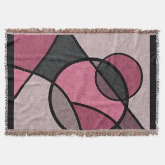 Lençol Nascer do sol cor-de-rosa, abstrato