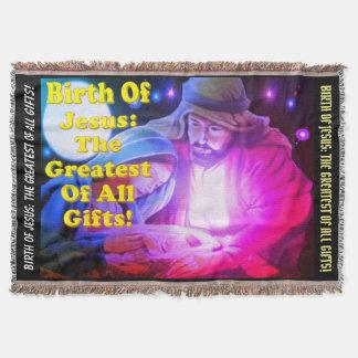 Lençol Nascimento de Jesus: O grande de todos os