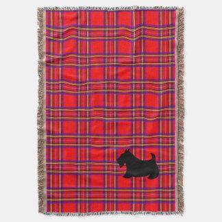 Lençol Presente geral de Terrier do Scottish da xadrez do