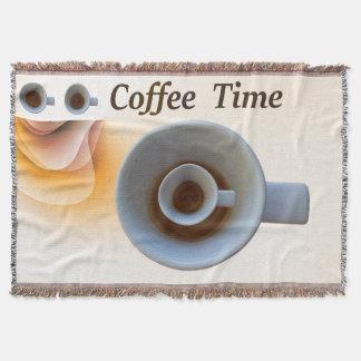 Lençol tempo do café