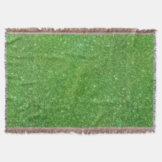 Lençol Textura verde do abstrato do brilho