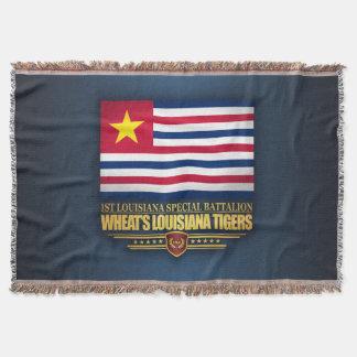 Lençol Tigres do Louisiana do trigo