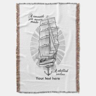 Lençol Um mar liso nunca fez um marinheiro especializado