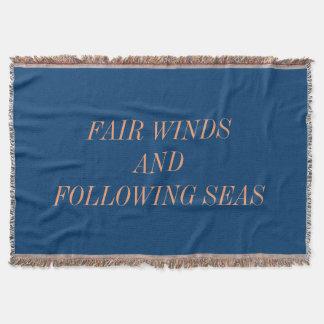 Lençol Ventos justos e mares de seguimento