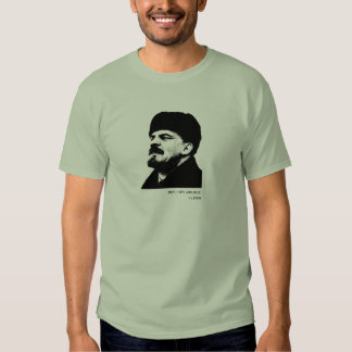 Lenin do Beatles T-shirts
