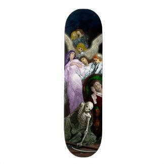 Lenore entre os anjos skateboard