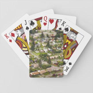 Lentes da inclinação/deslocamento da técnica #1- cartas de baralho
