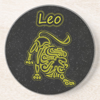 Leo brilhante porta-copos
