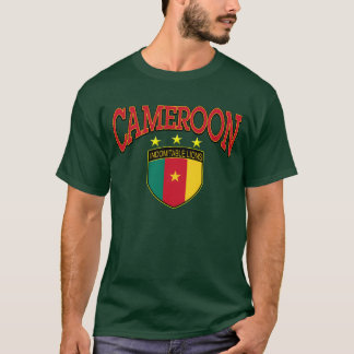 Leões indomáveis de República dos Camarões Camiseta
