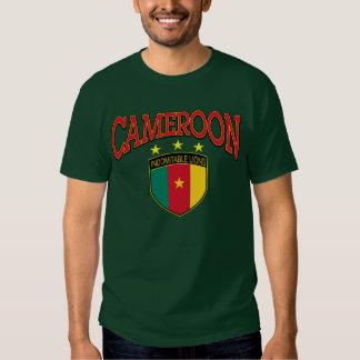 Leões indomáveis de República dos Camarões Tshirt