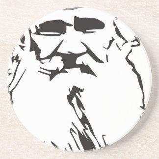 Léon Tolstói Porta-copos De Arenito