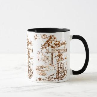 Leonardo da Vinci esboçou a caneca de café
