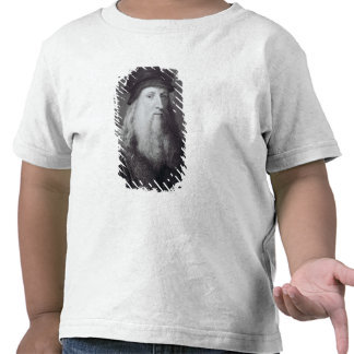 Leonardo da Vinci, gravado por Raphael Camisetas