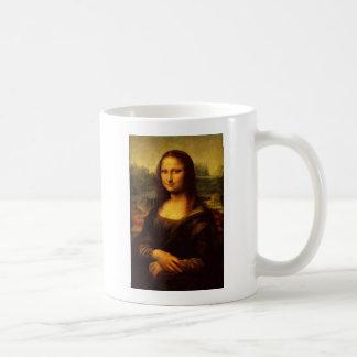 Leonardo da Vinci Mona Lisa Caneca