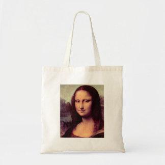 Leonardo da Vinci - Mona Lisa (detalhe) Bolsa Tote