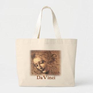 Leonardo da Vinci - mulher Bolsa Para Compras