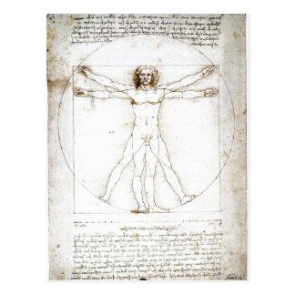 Leonardo da Vinci sumário: As proporções de Cartões Postais