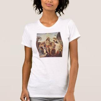 Leonardo de da Vinci - O baptismo do cristo Tshirts