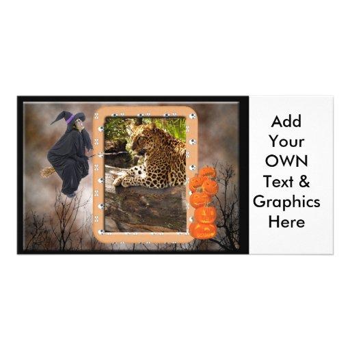 leopard-halloween-2010-0021 cartao com fotos personalizado