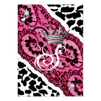 leopardo 311-Lacy & tiara Cartao De Visita