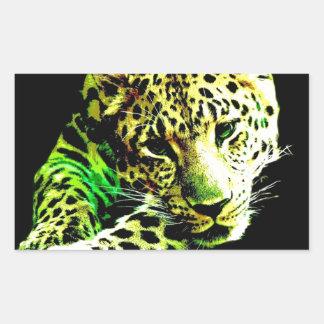 Leopardo Adesivo Retangular