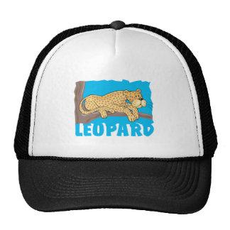 Leopardo amigável boné