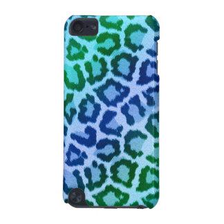Leopardo azul iPod do impressão do animal de dance Capa Para iPod Touch 5G