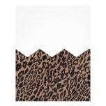 leopardo da viga papel de carta
