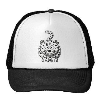 Leopardo de neve bonés