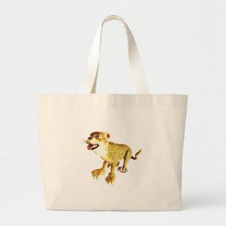 Leopardo do bebê dos desenhos animados bolsas