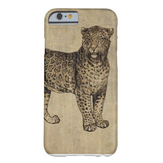 Leopardo do vintage capa barely there para iPhone 6