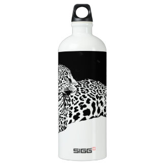 Leopardo preto & branco
