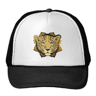 Leopardo retro boné