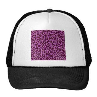 leopardo roxo boné