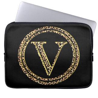 Leopardo V Capa Para Laptop