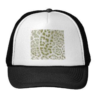 Leopardo verde boné